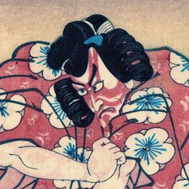 Gallery Two - Four Prints by Kunisada (Toyokuni III)