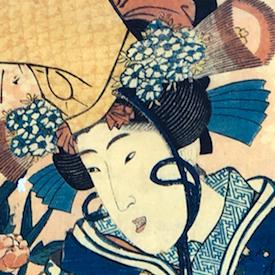 Gallery Two - Ukiyo-e Stories Vertical Diptych Prints (Kakemono-e)
