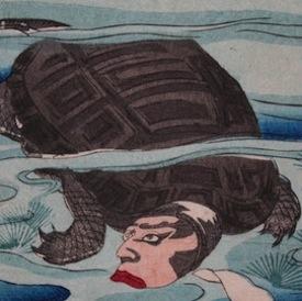 Gallery Two - Toyohara Chikanobu Triptych Prints