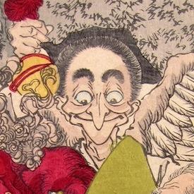 Nishiki-e in Osaka and Edo at Toshidama Gallery