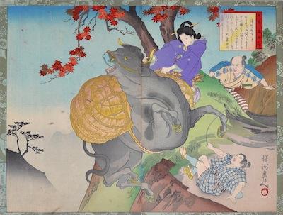 Chikanobu, Stories of Famous Japanese Women - Ueno
