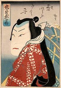 Hirosada, The Boatman Kikuhei
