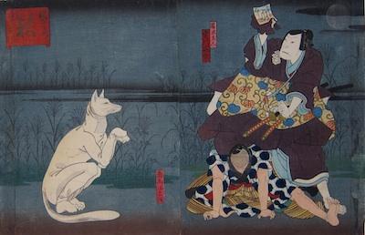 Hirosada, Ogura no Shikishi