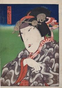 Hirosada, Onaka from the play Natsu Matsuri Naniwa Kagami