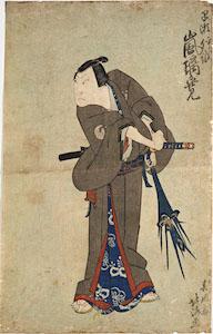 Hokushu, Kabuki Actor Arashi Rikan III