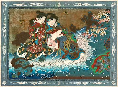 Kunimori II, Scene from A Life of the Buddha