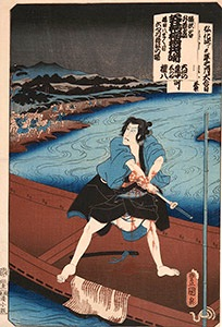 Kunisada, Scenes From Kabuki Plays