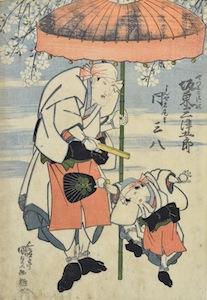 Kunisada, Sumiyoshi Dancers