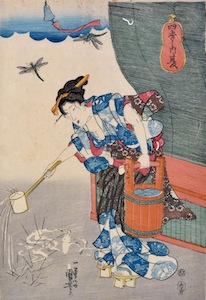 Kuniyoshi, The Four Seasons - Summer