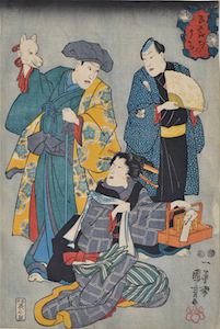 Kuniyoshi, The 5 Festivals - Tanabata