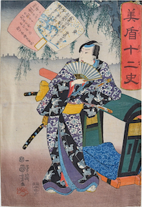 Kuniyoshi, Selection for the 12 Signs - Tiger