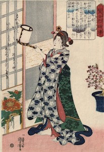 Kuniyoshi, Stories of Wise Women and Faithful Wives - Hotoke Gozen
