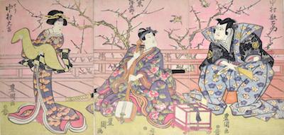 Toyokuni I, Kabuki Triptych