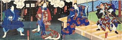 Yoshitaki, Scene from Dan-no-Ura Kabuto Gunki