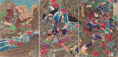 Yoshitoshi, Toyotomi Hideyoshi's Invasion of Korea