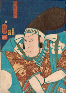 Yoshitoshi, Nakamura Shikan IV as Kato Kiyomasa